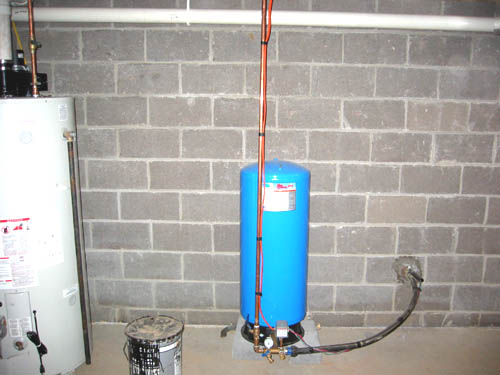 Water Treatment System - Robinson After Installation